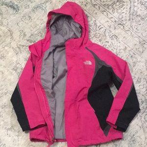 Girls North Face coat